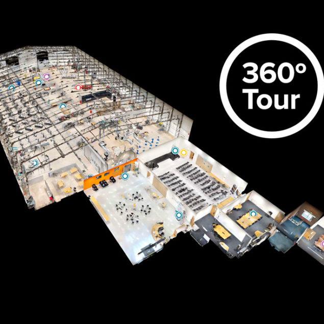 Take the 360º Virtual Tour