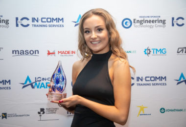 Girl Power as Shropshire apprentice lands major Training Award