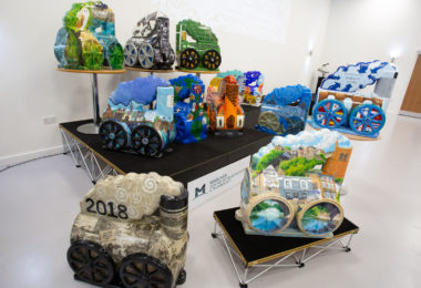 MCMT apprentices on track with new Bridgnorth 'Catch Me Who Can' Arts Trail